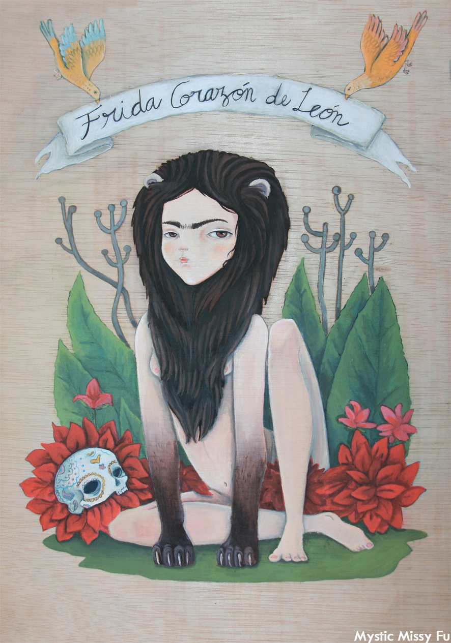 FRIDA HEART OF LION