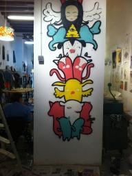 work in progress. Paella Showroom shop