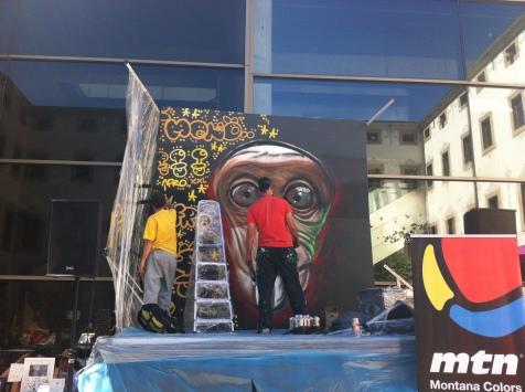 xupet negre + Berok graffiti artists