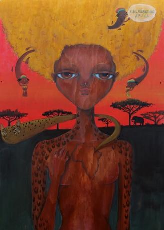 ROTOTOM AUGUST 2017 ARTWORK DETAIL CELEBRATING AFRICA