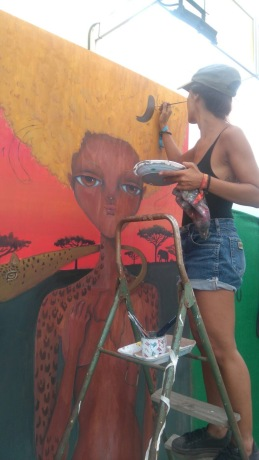 ROTOTOM AUGUST 2017 ARTWORK DETAIL CELEBRATING AFRICA
