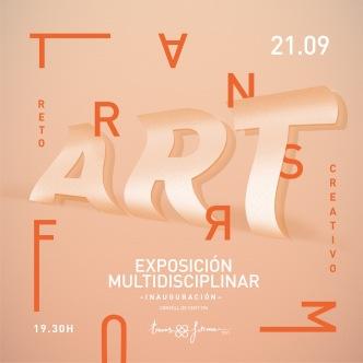 tranform-ART exposición naranja RRSS
